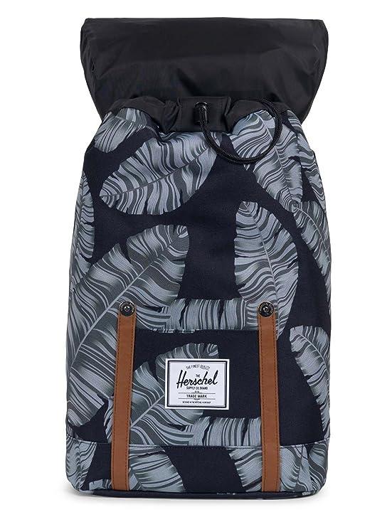9879febbe Herschel Retreat Backpack Black Palm: Amazon.fr: Chaussures et Sacs