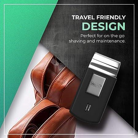 Wahl 3615-0471-Mobile Shaver, Kit para el corte de pelo - 1 unidad, batería, a red;indicadores led;pantalla lcd ...