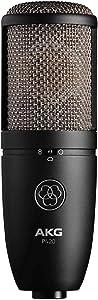 AKG P420 - Micrófono de Condensador (Gran Diafragma), Azul/Metálico/Níquel