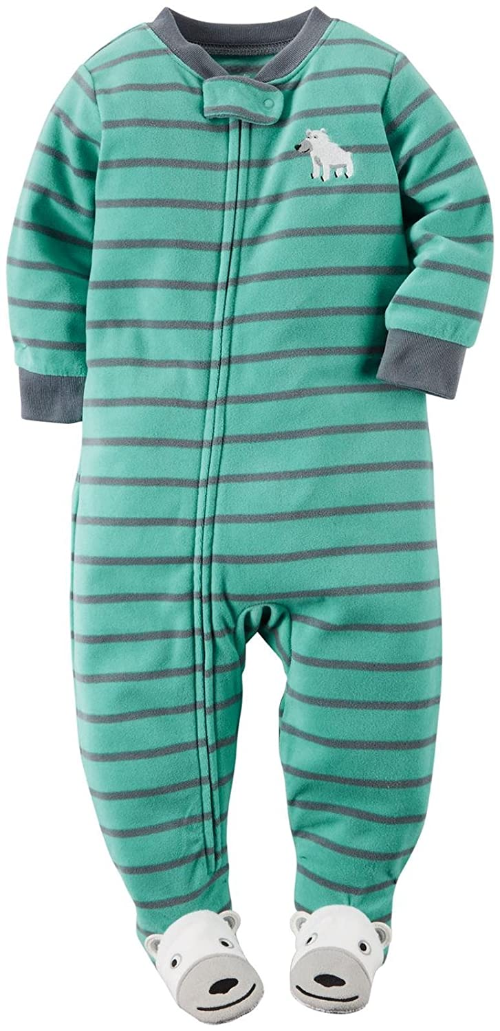 Carter's Little Boys' Striped Footie (Toddler)