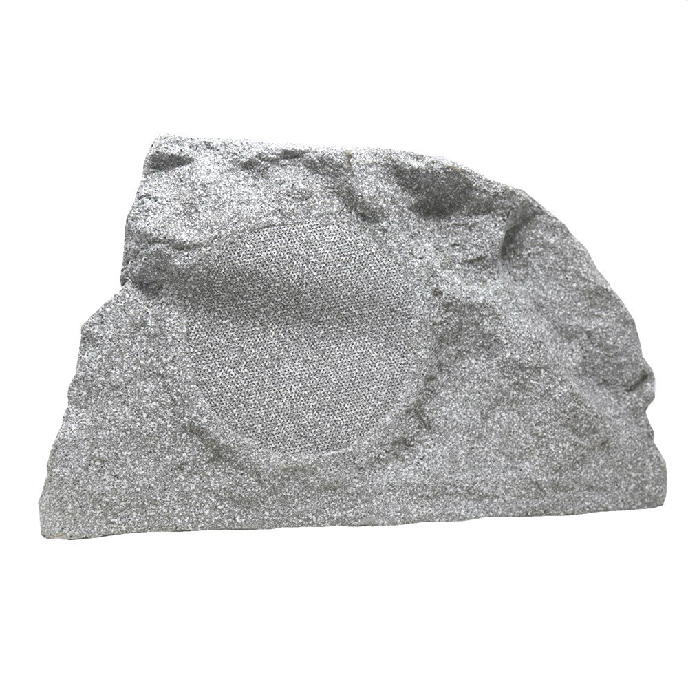 TIC TFS10-WG 8'' Professional Outdoor Weather-Resistant Coaxial Rock Speaker (White Granite) by TIC (Image #1)
