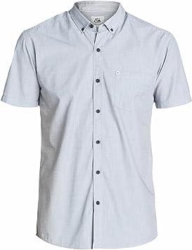 Quiksilver Wilsden - Camisa/Camiseta para Hombre, Color Grey ...