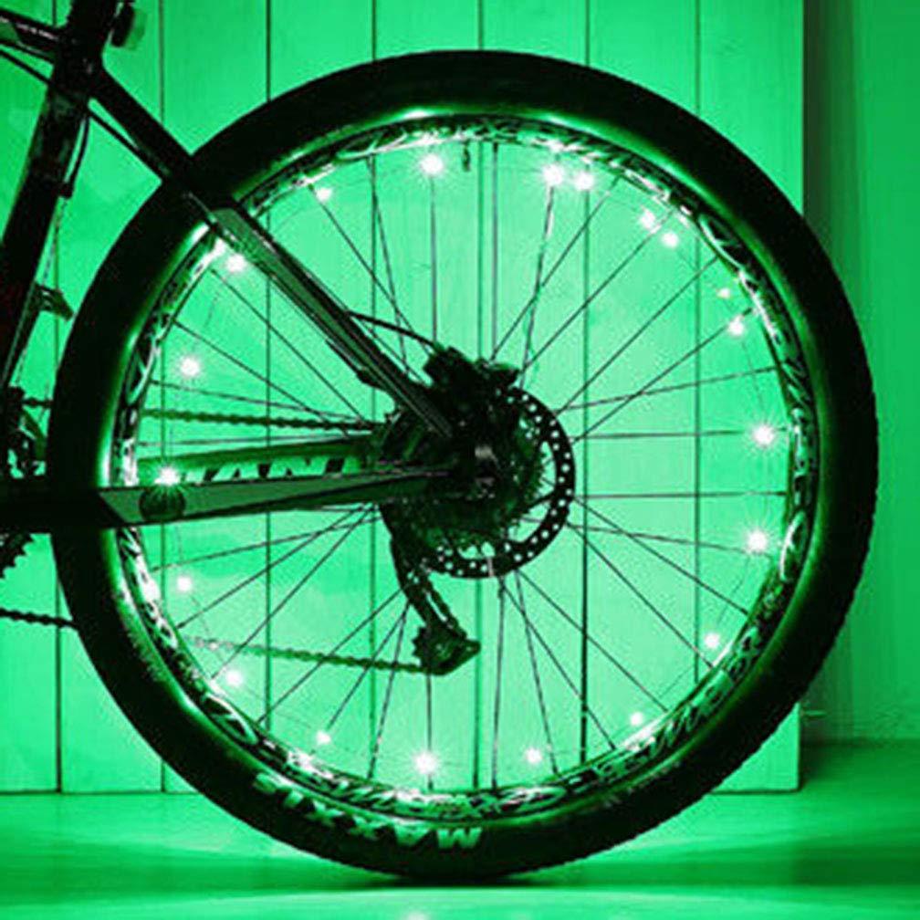 20 LED Bicycle Accessories Bike Wheel Rim Light AA Battery Spoke Lamp