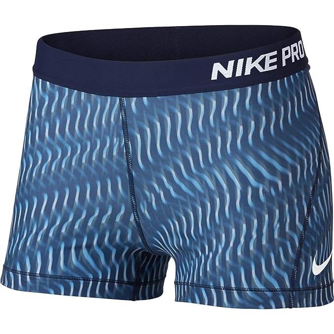 Nike Women s Pro 3 quot  Rainbow Wavy Short (Binary Blue Binary Blue White 1601dfbd8