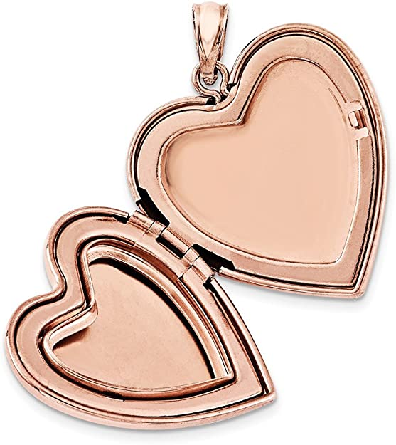 Large Heart Double Photo Lockets In Silver /& Gold Tone Size 30mm x 30mm