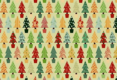Colorful Christmas Background For Kids.Amazon Com Lfeey 9x6ft Colorful Christmas Tree Backdrop