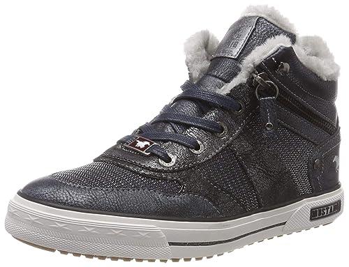 Mustang Schnür-Booty, Zapatillas Altas para Niñas: Amazon.es: Zapatos y complementos