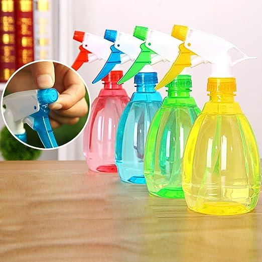 Covermason Plastico Botella de Spray Regar Flores Rociador de Agua para Plantas(Azul): Amazon.es: Jardín