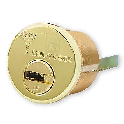 MUL-T-LOCK Junior borde & muesca alta calidad Rimo Cilindro juntas 3 llaves