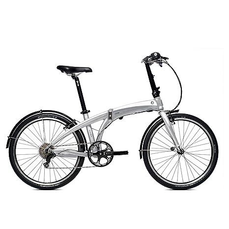 Bici Dahon Pieghevole.Dahon Bici Pieghevole Ios P8 8 Gang Bicicletta Argento 24