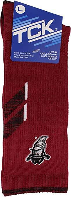 TCK New Mexico State Aggies Socks Womens Savage Crew Socks