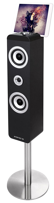 Avenzo AV6051 - Altavoz de suelo (45 W, 2.1, Bluetooth, pantalla LED, incluye mando a distancia), negro