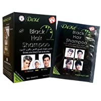 Black Hair Shampoo -Instant Black Hair Dye Shampoo Black Hair Dye Maintain Hair...