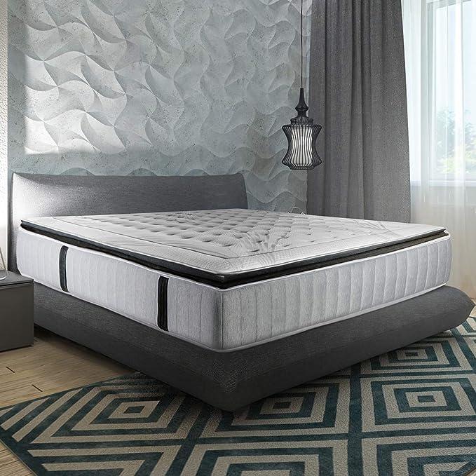 Olympe Literie | Conjunto de colchón de Phigalia con somier ...