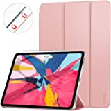 Ztotop Case for iPad Pro 11 Inch 2018,Strong Magnetic Ultra Slim Minimalist Smart Case with Auto Sleep/Wake,Trifold Stand Cover for iPad Pro 11 Inch 2018,Rose Gold