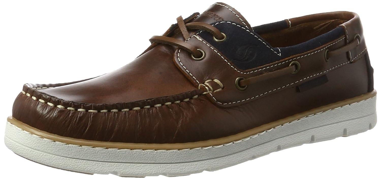 Dockers by Gerli 40cm001-182306, Chaussures Bateau Homme, Marron (Braun/Blau 306), 40 EU
