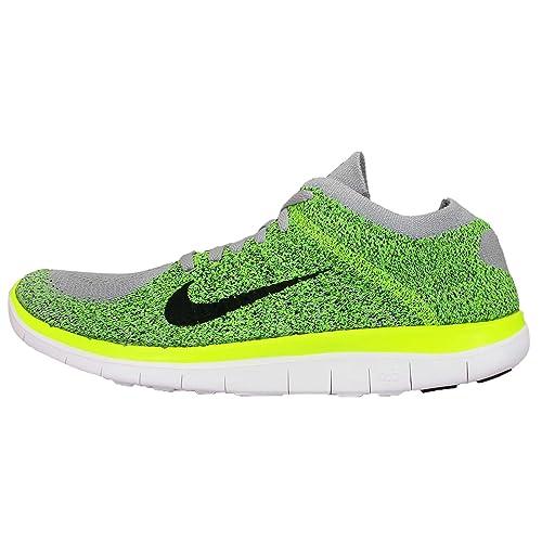 100% authentic 5961a 71ab7 Nike Free 4.0 Flyknit - Scarpe da Ginnastica di Materiale Sintetico Uomo  Size  14 D(M) US  Amazon.it  Scarpe e borse