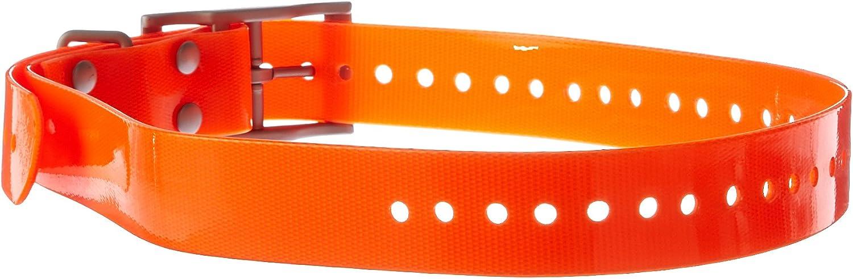Garmin 010-11892-00 - Correa (Poliuretano, Naranja, Alpha Astro DC 50 Dog Tracking Collar TT 10 Dog Device, 68,6 cm)