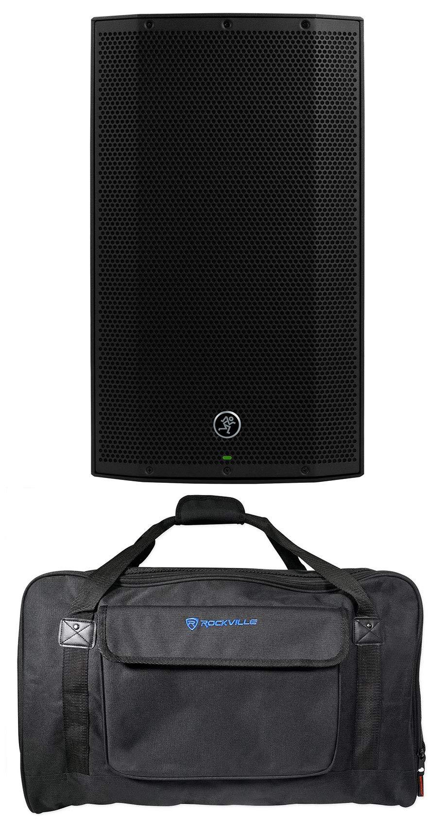 Mackie Thump12A THUMP-12A 12'' 1300w Powered DJ PA Speaker+Weatherproof Carry Bag by Mackie
