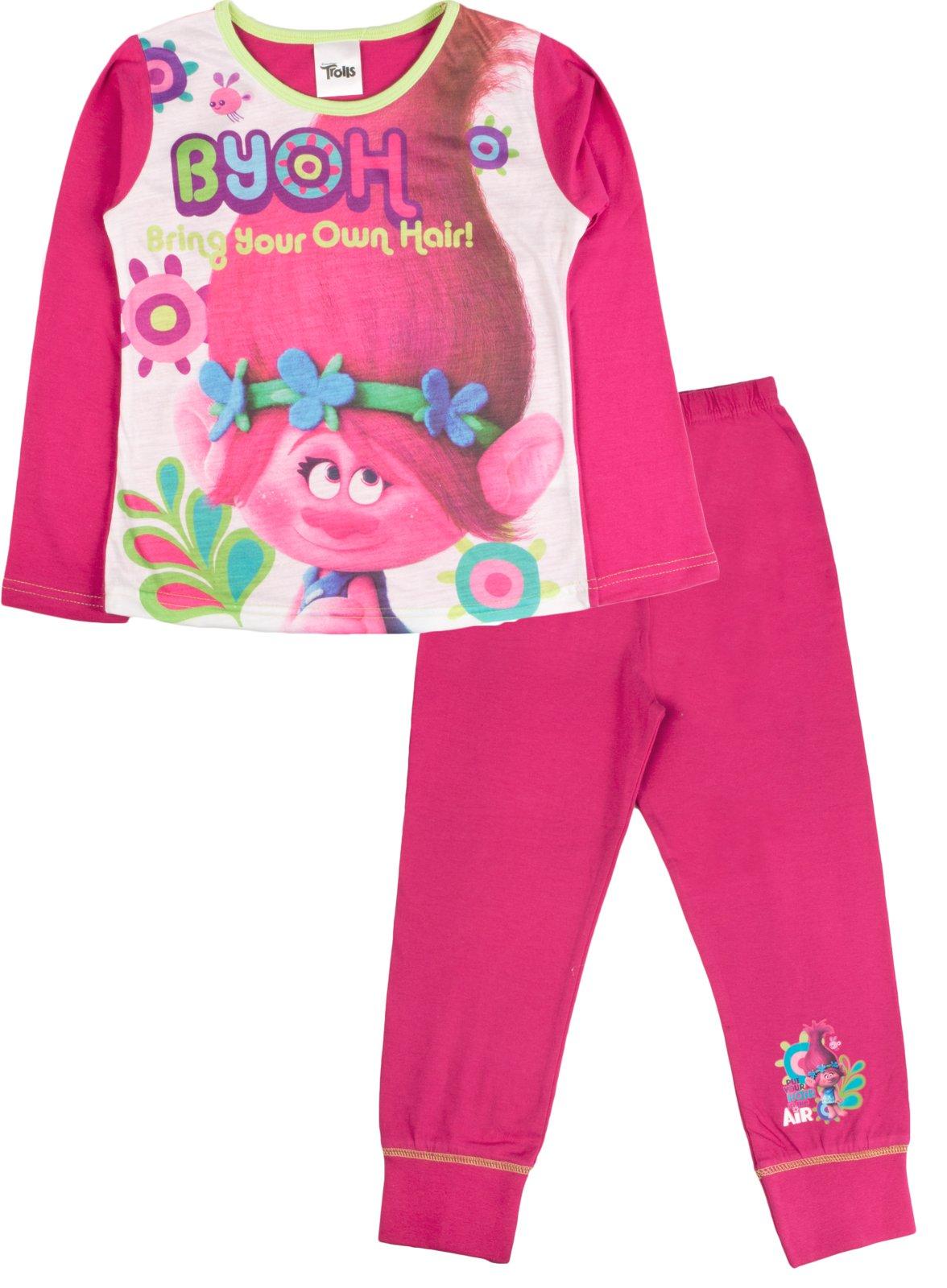 Lora Dora Girl's Pyjamas Piece Set 4-5 Years Trolls - Byoh