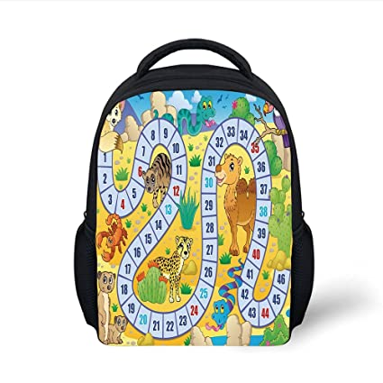 Amazon.com  iPrint Kids School Backpack Board Game 08996bfc442c6
