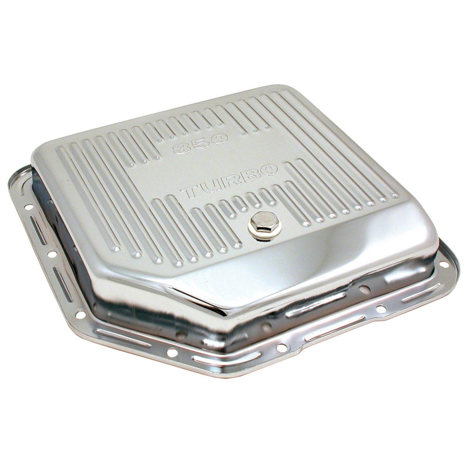 Spectre 5450 Chrome Transmission Pan for Turbo 350