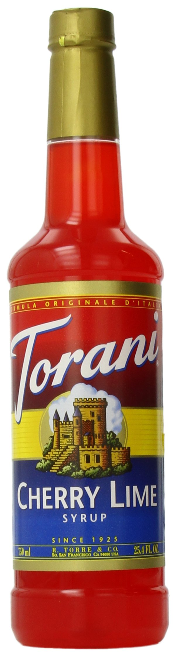 Torani Syrup, Cherry Lime, 25.4 Ounce (Pack of 4)