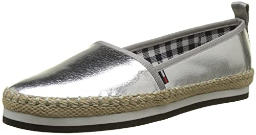 Tommy Jeans Sporty Metallic Slip On, Alpargata para Mujer: Amazon.es: Zapatos y complementos