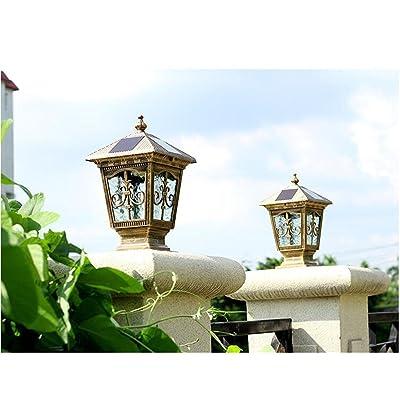 Lumière solaire de LED lampe imperméable extérieure de
