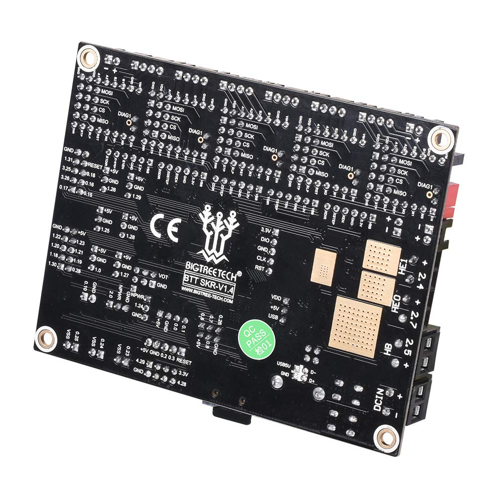 SKR V1.4 Turbo with TMC2130 SPI BIGTREETECH 3D Printer Part SKR V1.4 Turbo 32bit Control Board Smoothieboard/&Marlin Open Source SKR V1.4 SKR V1.3 Upgrade Support TMC2209//TMC2208//TMC2130 Drivers