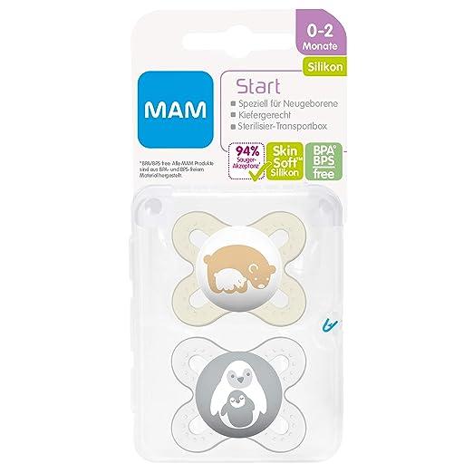 Mam Babyartikel 66643820 - Chupete, 0-2 meses