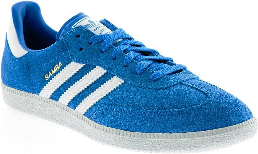 Adidas Samba Blue White Mens Trainers