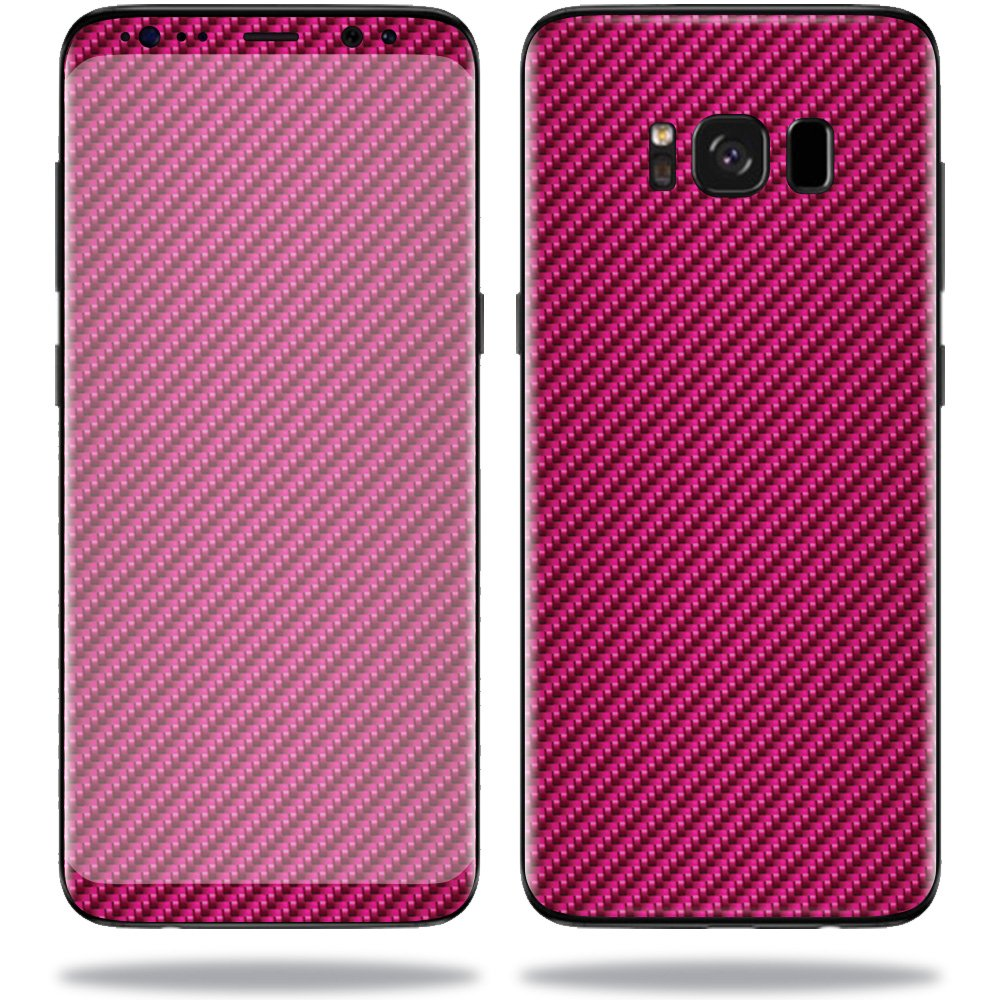 MightySkins Skin for Samsung Galaxy Note 9 - Red Carbon Fiber | Protective, Durable, and Unique Vinyl Decal wrap Cover | Easy to Apply, Remove, and Change Styles | Made in The USA Galaxy Note 9 NEXT Case
