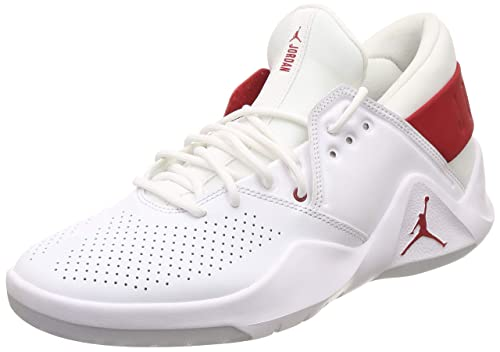 561e8d28737b81 Nike Men s Jordan Flight Fresh White Gym Red Basketball Shoes-7 UK India