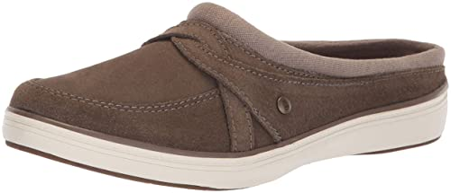 48a224cc Grasshoppers Cruise Mule Suede Clog - Chamarra para Mujer, Marrón, 10 M US