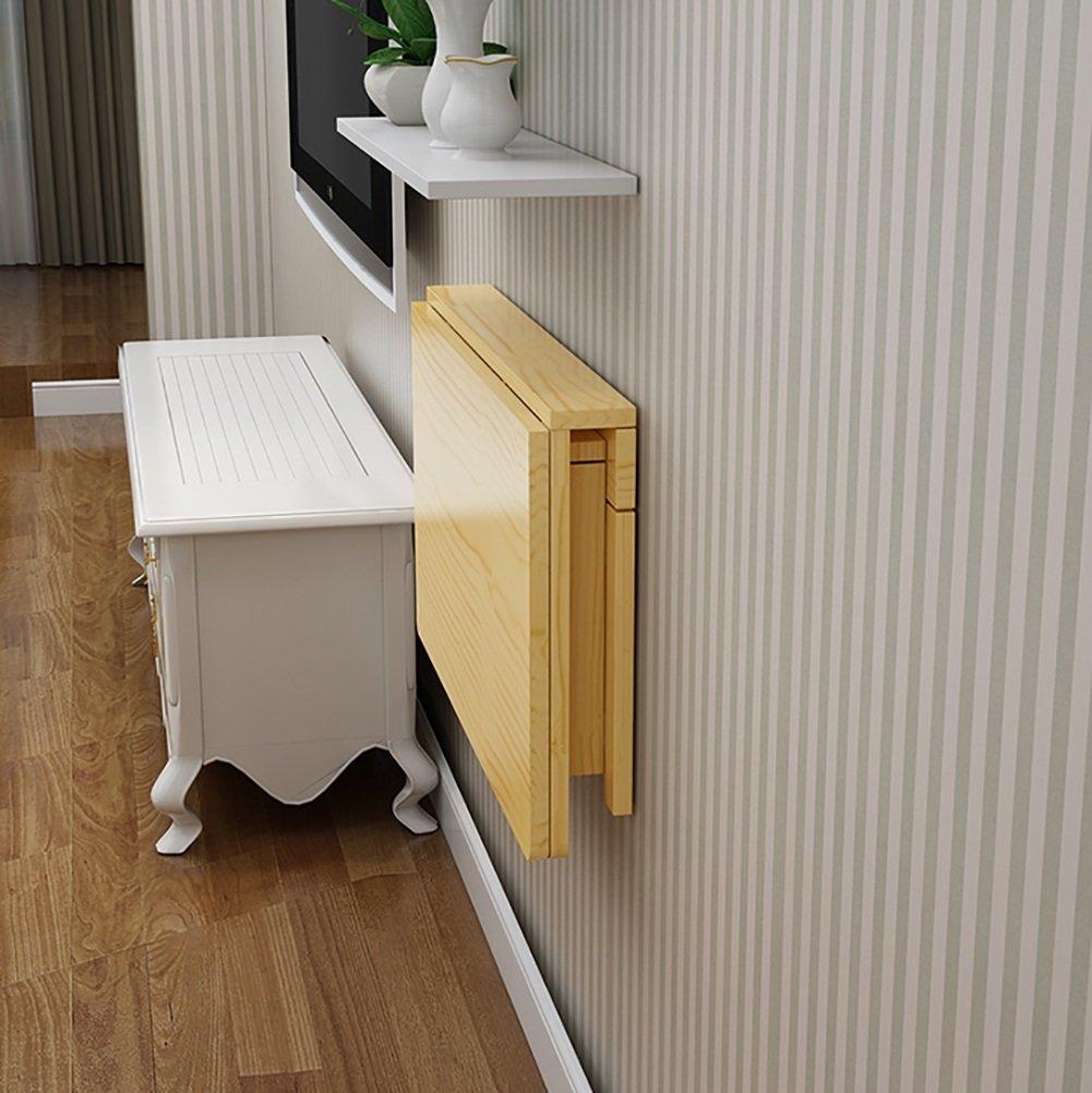 壁掛け式折り畳みテーブルコンピュータテーブルダイニングテーブルソリッドウッド壁掛けテーブルデスク (サイズ さいず : 70*40cm) B07DNNJT5P 70*40cm 70*40cm