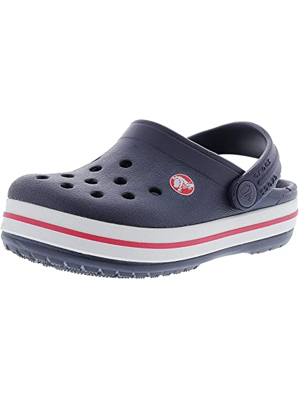 360a7b676f0290 crocs Kids  Boys and Girls Crocband Sandal Slip On Clog