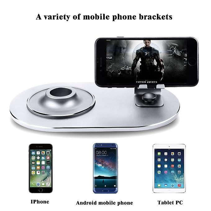 Acero Inoxidable Soporte para Altavoz de Apple HomePod Base de Soporte para Apple Homepod YuStar Antideslizante