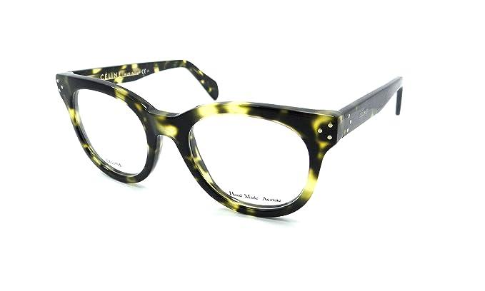 Celine Rx Eyeglasses Frames CL 41302 PHW 49-20-140 Havana Green Made ...