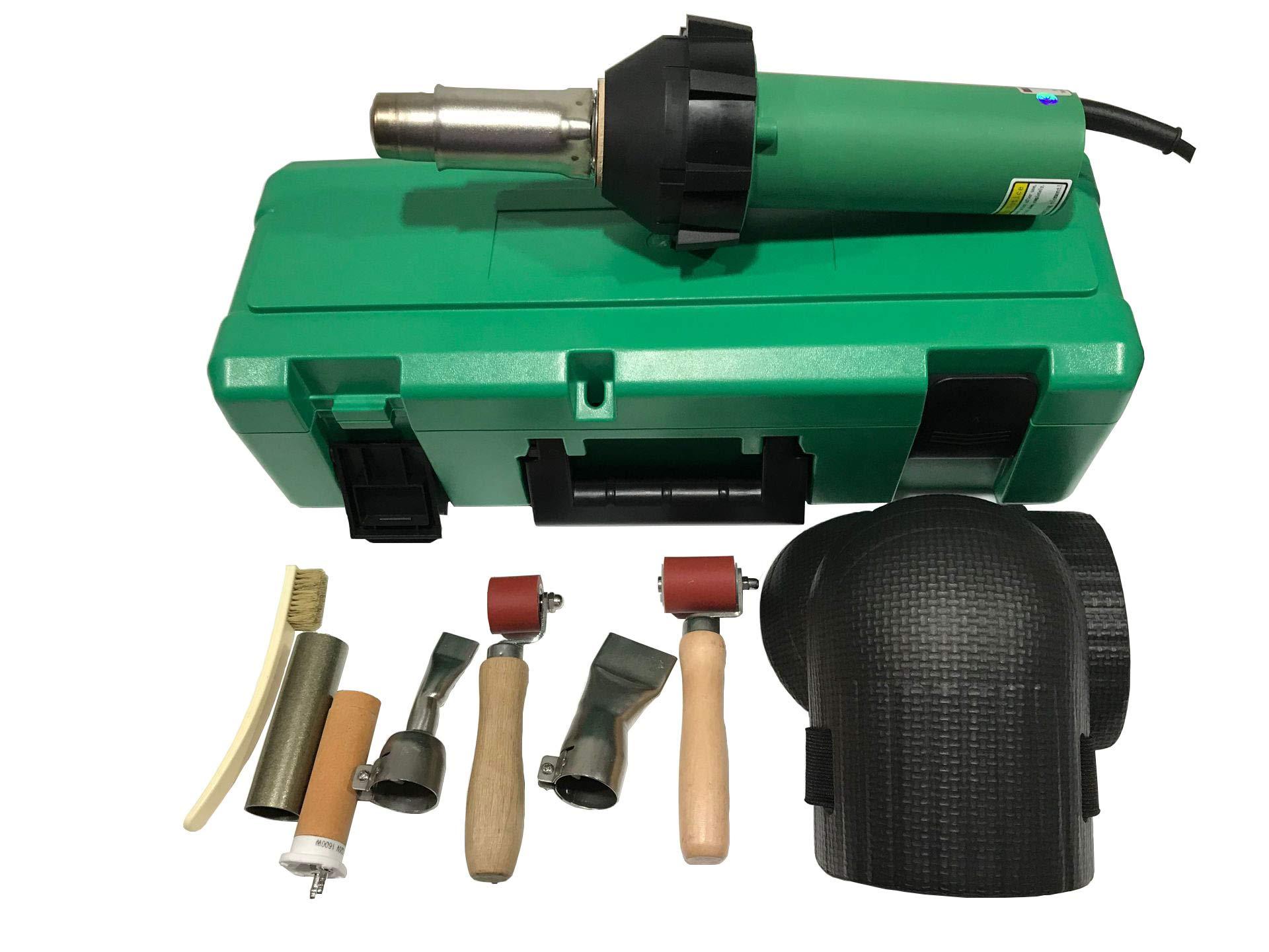 Plastic Welder Gun/Heat Gun/Hot Air Gun And Accessories Vinyl Floor Hot Air Welding Kit Hot Air Equipment (welding tool set)