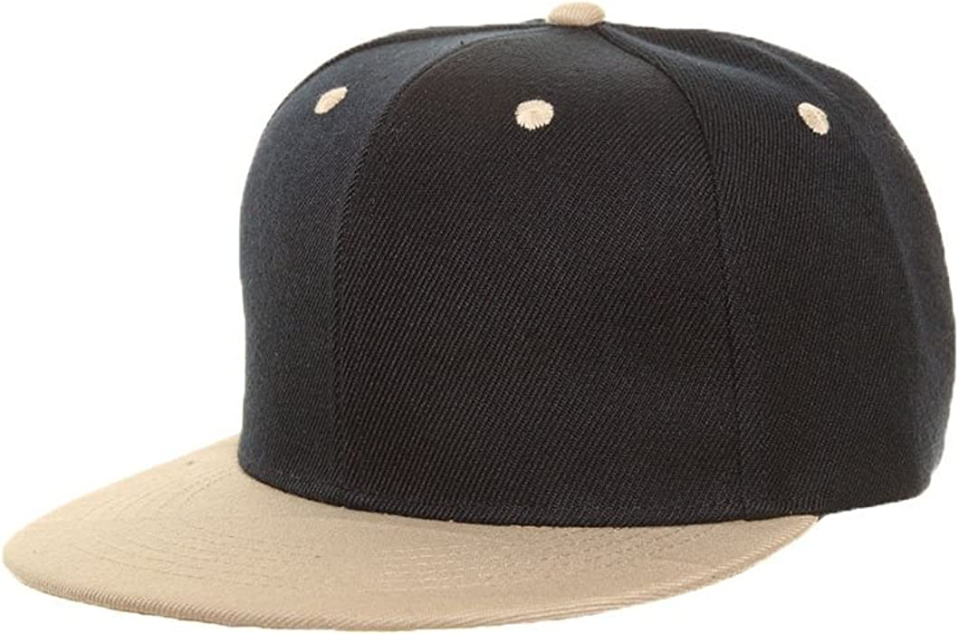 35751929090 KIDS TWO TONE SNAPBACK FLAT PEAK CAP SUPER COOL RETRO LOOK (NAVY BEIGE)   Amazon.co.uk  Clothing
