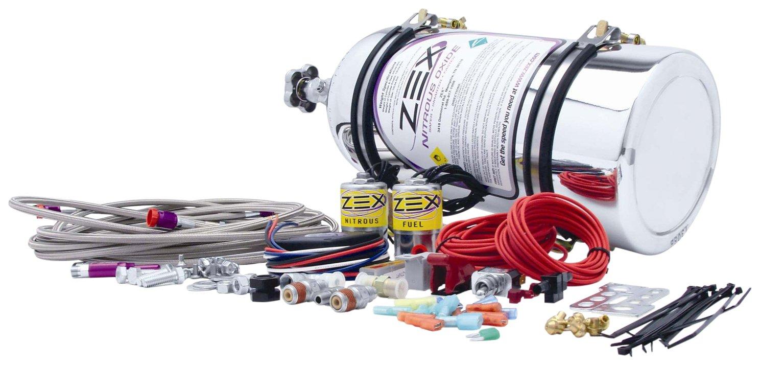 COMP Cams 82032P Nitrous System (Zex Lsx D/P W/P Bottle)