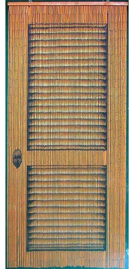 Louvre door curtain 125 strands & Amazon.com: Louvre door curtain 125 strands: Home \u0026 Kitchen