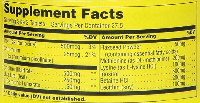 55 tablets Universal Nutrition Fat Burners