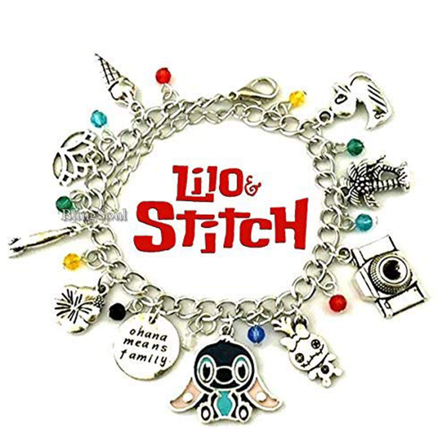 Christmas Lilo and Stitch Gifts for Girls - Disney Lilo Stitch Jewelry Merchandise
