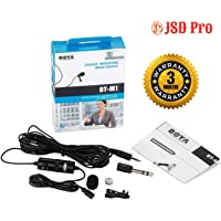 BOYA - by M1 Lapel Microphone for Smart Phone, Action Cameras, DSLR and Camcorders - JSD Pro®