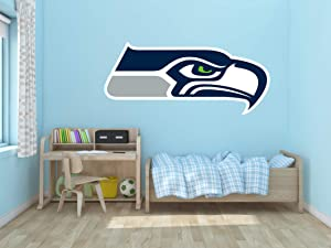 "American Football Team Wall Decal Vinyl Sticker for Home Interior Decoration Bedroom, Laptop, Window, Mirror, Car (23"" x 10"")"