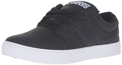 Osiris Men's Lumin Skateboarding Shoe, Black/Perforated, ...