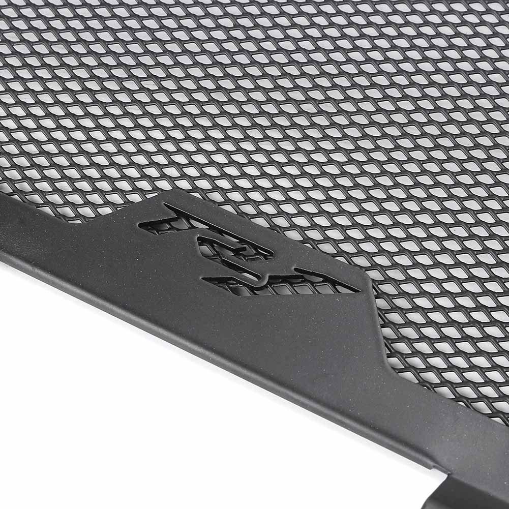 Gzyf Moto Grille de radiateur Grille Guard Housse de protection pour Yamaha Yzf-r1/2015/2016/2017 Noir