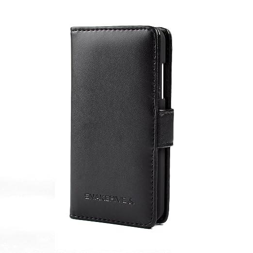 8 opinioni per Snakehive® Nokia Lumia 630 / 635 In Pelle Laminata Custodia a Portafoglio per